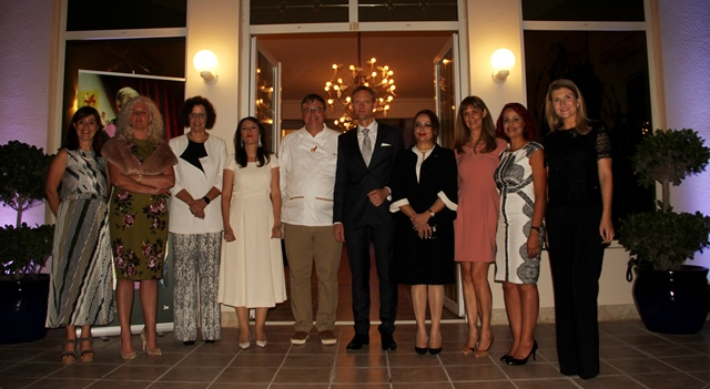 ambassador-christophe-piyat-and-spouse-with-guests