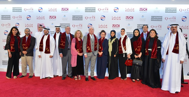 guests-at-the-world-premiere-of-dariqatar-with-dfi-ceo-fatma-al-remaihi