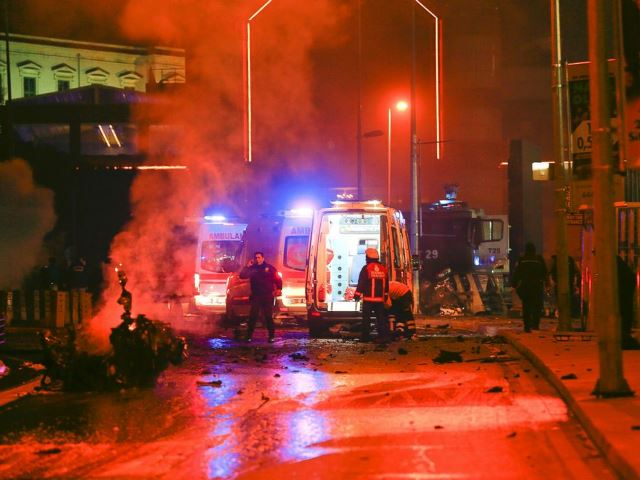Site Of An Explosion In Central Turkey 10 Dec 2016