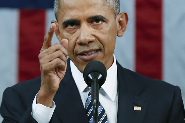 U.S. President Obama delivers final State of the Union address to a joint session of Congress in Washington