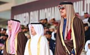 Emir of Qatar Attends Graduation Parade 2017