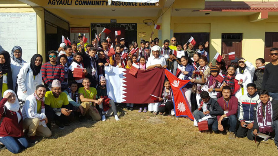 Rota Partners with CNAQ Support Nepalese Youth