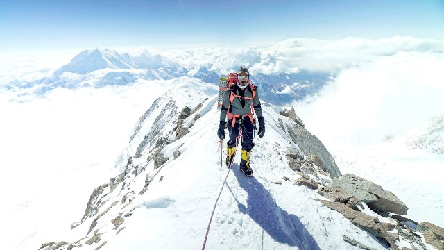 Sheikh Mohammed bin Abdulla AlThani Summiting Peak Mount Denali