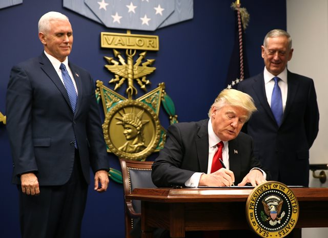 US President Issues Executive Orders Banning 7 Islamic Countries Nationals