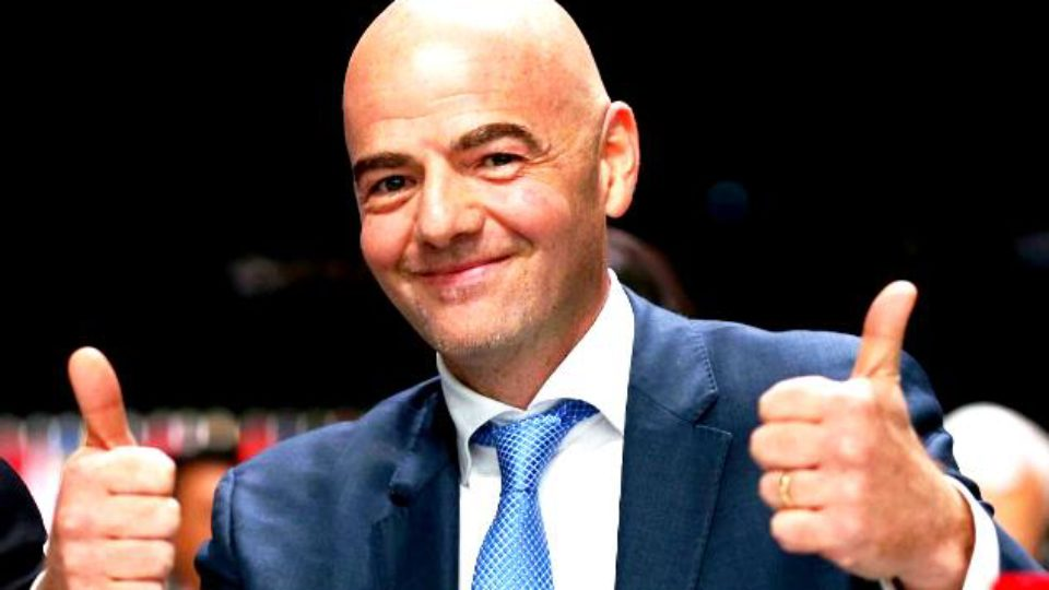 Gianni Infantino Official Picture