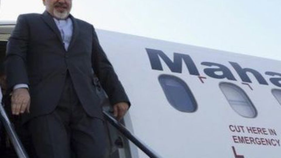 Zarif, Iran Foreign Minister arrives in islamabad to attend ECO FMs Meeting
