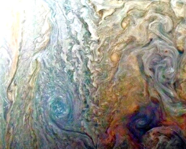 Amazing picture of Planet Juipter by NASA Junocam 28 Mar 2017 Courtesy Yahoo News