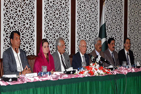 FATA Reforms Committee briefing media on Thursday 2nd Feb 2017