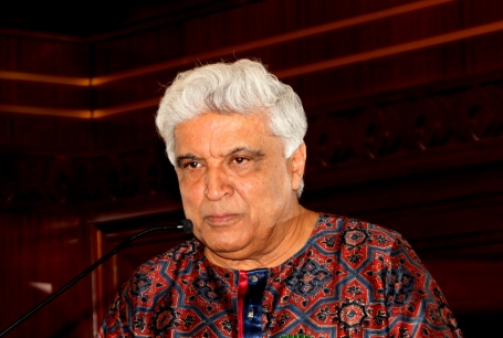 Javed Akhtar Indian Noted Lyrcist Pic by Ashraf Siddiqui