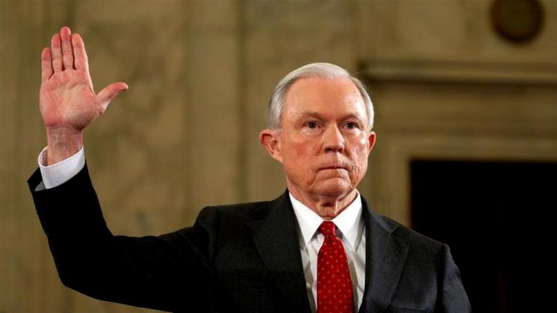 Jeff Sessions US Attorney General