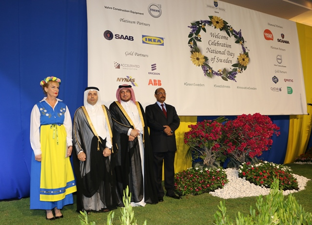 Chief Guest Qatar Education Minister at Sweden National Day 25 Apr 2017
