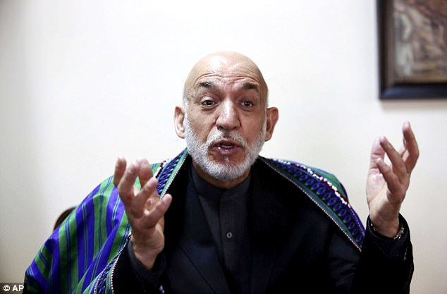 Hamid Karzai former Afghan President accused US using Afghanistan as weapon testing ground