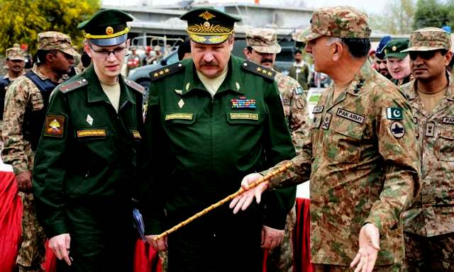 Russian Deputy Chief of General Staff Colonel General Israkov Sergi Yuryevich. during recent visit to Pak FATA area