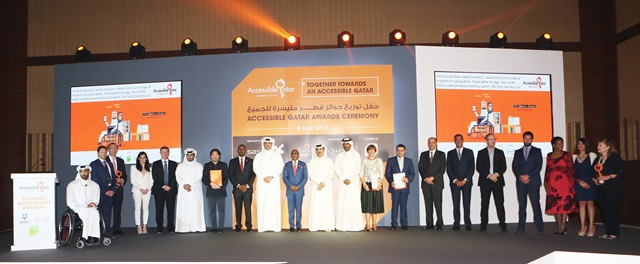 Group Picture Accessible Awards Winners