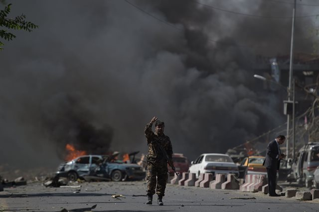 Kabul Blast 31 May 2017 Picture by Getty