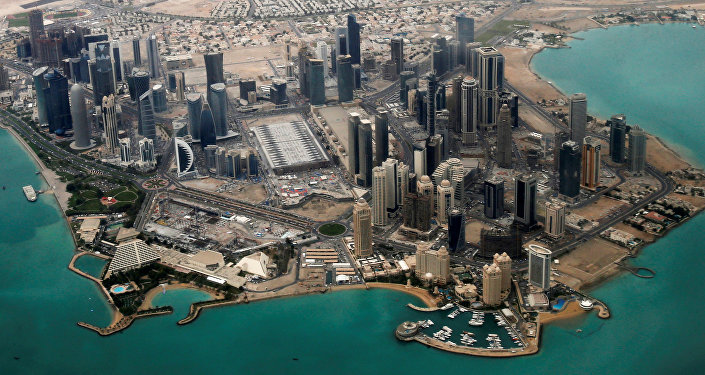 An Aerial View Doha