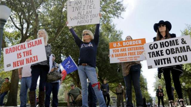 Anti-Muslim group plans marches in dozens of cities across the US AP