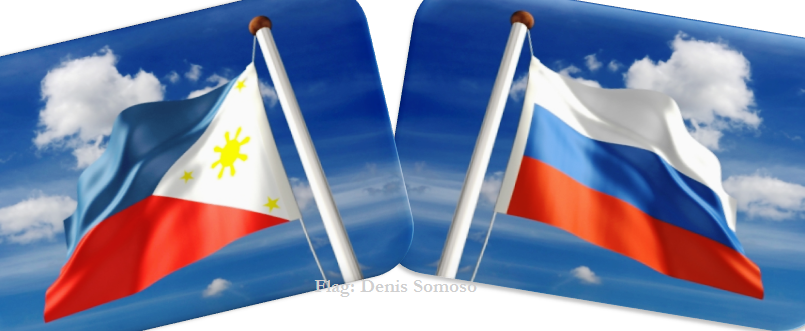Russian-Philippines Flags