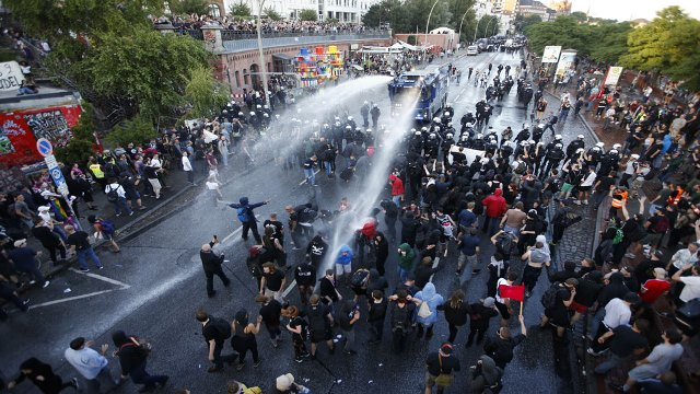 G20-GERMANY/PROTEST
