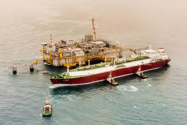 RasGas' Al Areesh vessel arrives at the Adriatic LNG Terminal, marking the 500th SPA cargo delivery to