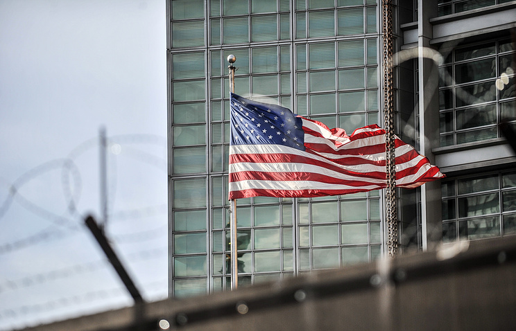 US Embassy in Moscow Pic TASS