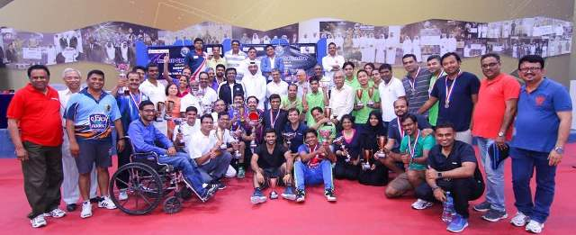 Indian Sports Club Held Table Tennis Tournament