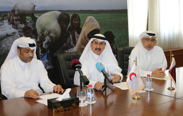 Qatar Red Crescent Issues Humanitarian Appeal To Help Rohingya Refugees