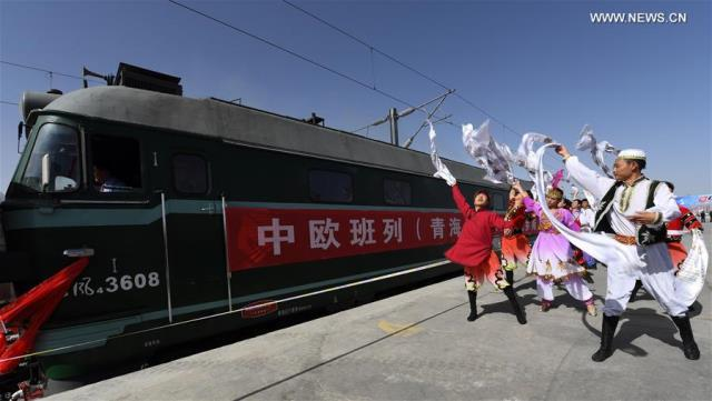 Chinese Int'l Freight Train Leaves Yinchuan for Tehran, 20 Chinese Cities Linked with Europe & Central Asia