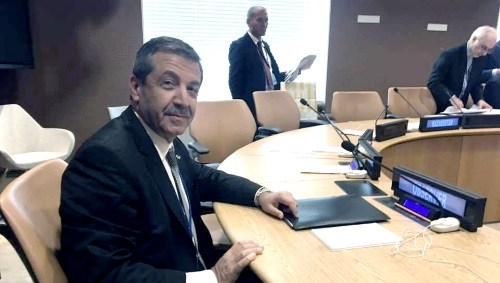 Foreign Minister Tahsin Ertuğruloğlu attends ECO Council of Ministers Meeting in New York