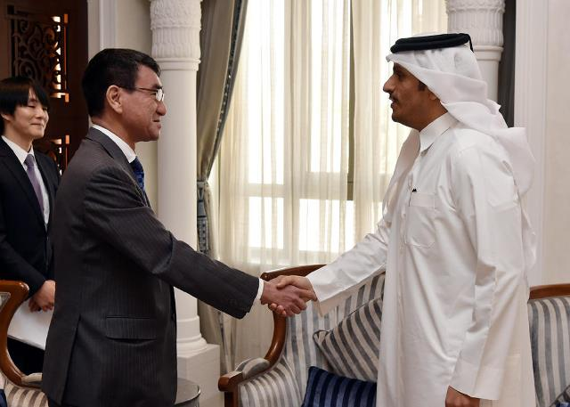 Japan & Qatar Foreign Ministers meet in Doha