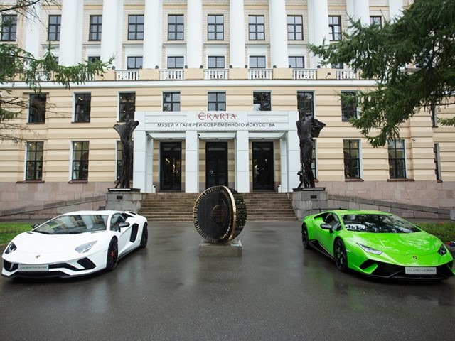 Lamborghini Design Legend Exhibition Takes Off at Erarta Museum in St. Petersburg