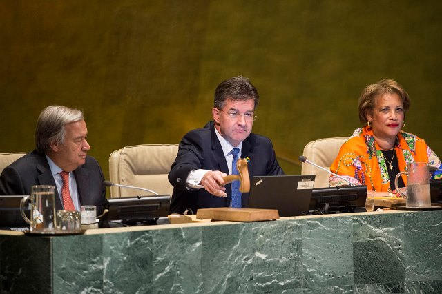 General Assembly Opens 72nd Session with Focus On the World's People
