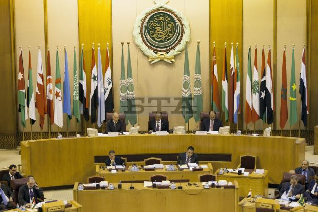 Photo taken on Sept. 12, 2017 shows the 148th ordinary session of the Arab League (AL) council at the level of foreign ministers at the AL headquarters in Cairo, Egypt Pic Xinhua