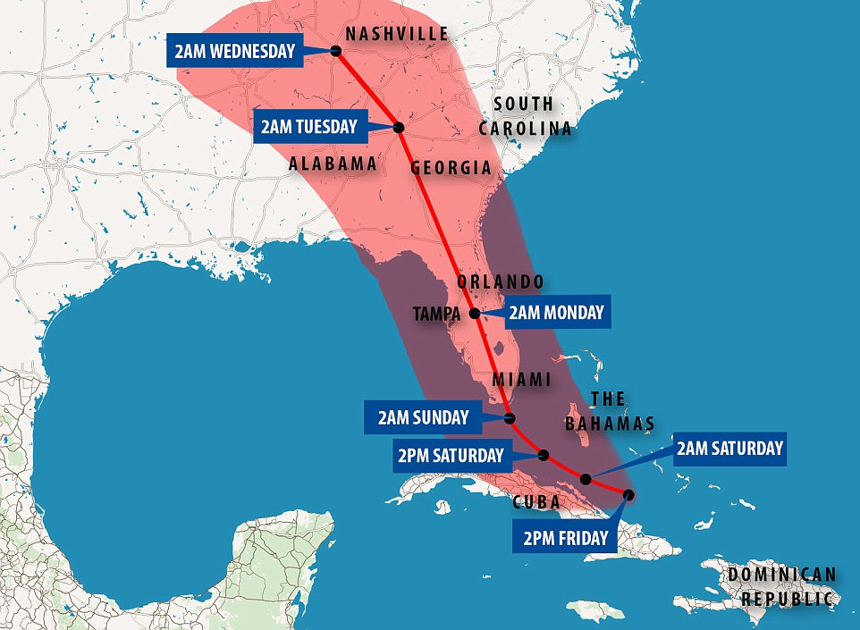 Get Out : Florida Residents Ordered to Evacuate, 'Now Is The Time To Evacuate'