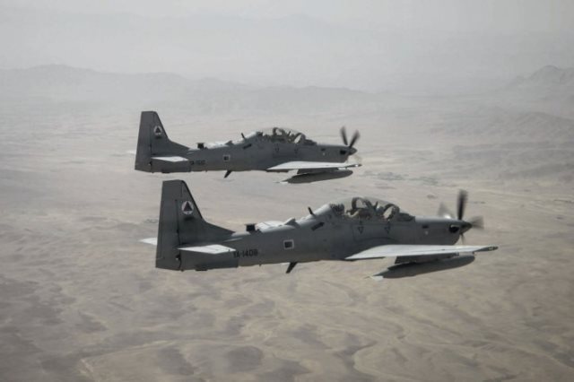 Afghan Air Force is to get a further six Super Tucanos to add