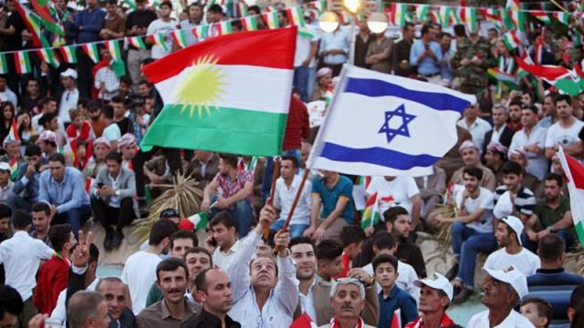 The provocative photos and footage of Israeli flags in Erbil and Kirkuk, as painful as they are to us, should not lead to the isolation or demonisation of the Kurds Pic Reuters