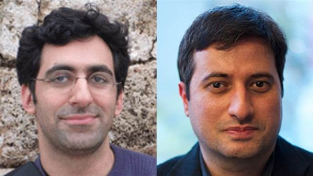 Bazzi, right, and Keshavarzian both had their security clearances denied Pic New York University