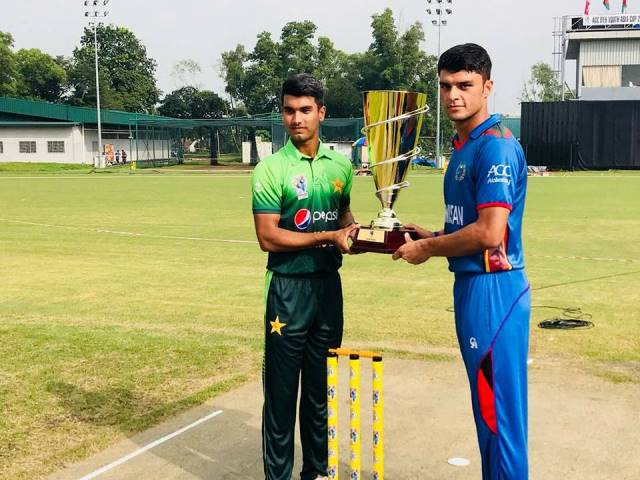 Afghan U-19 Xi Picked Asia Youth Cup Trophy After Smashing Pakistani Team in Final