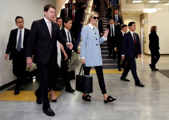 Ivanka Trump Arrived in Tokyo ahead US President Trump First Visit to Asia