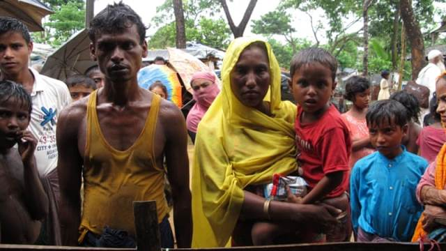Myanmar army has been accused of carrying out ethnic cleansing of Rohingya Pic AlJazeera