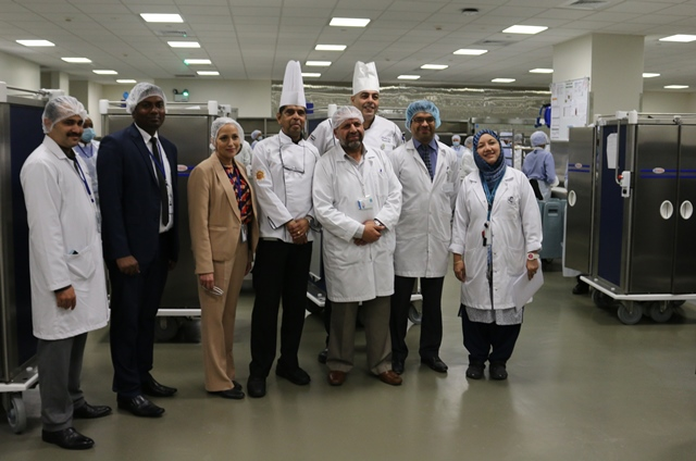 'State of the Art' Healthcare Kitchen Facilities for HMC's New Medical City Hospitals
