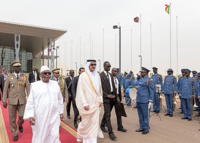 Qatar & Mali To Cooperate in Fields of Economy, Education, Investment, Sports and Combating Terrorism