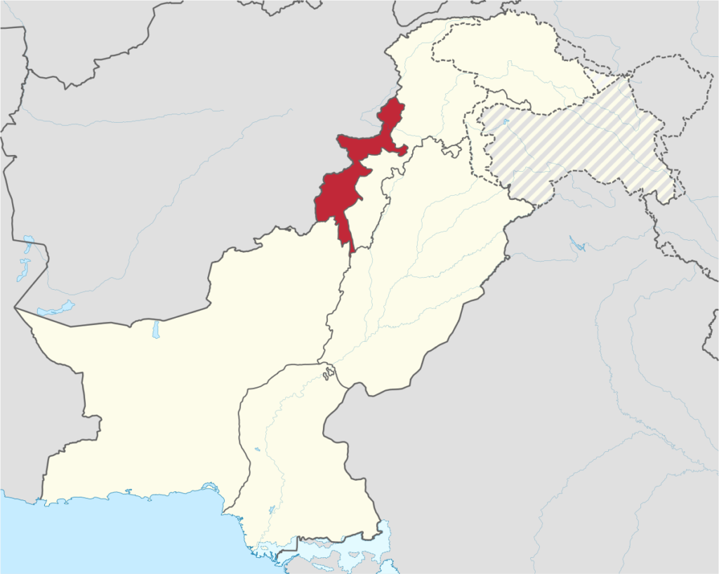 Federal Administered Tribal Area of Pakistan
