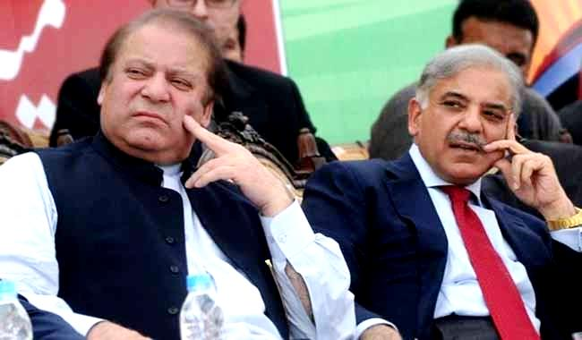 Shahbaz Sharif (Right) and Nawaz Sharif, three times elected Prime Minister of Pakistan