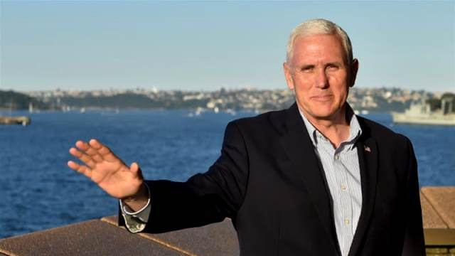 US Vice President Mike Pence Pic Getty