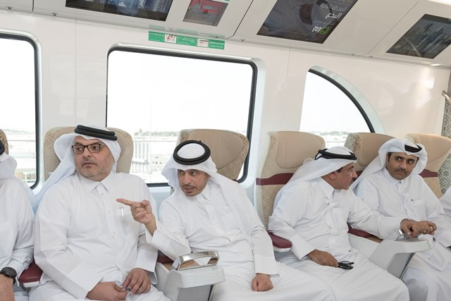 Qatar : Prime Minister Inspected On-going Progress of Doha Metro