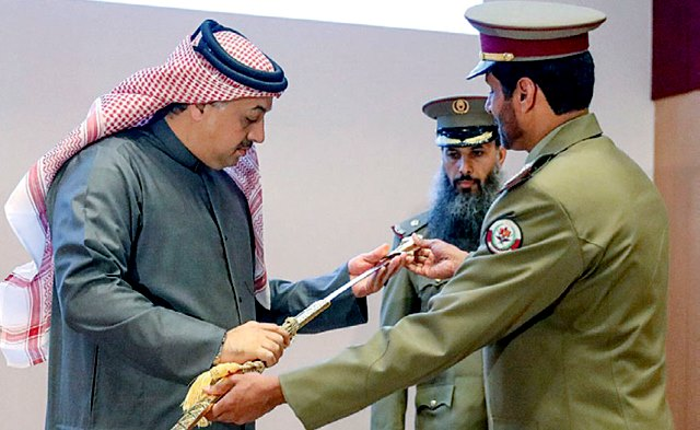 Qatar:   Deputy Prime Minister & State Minister of Defence Awarded Military College 13th Batch Passing Out Cadets