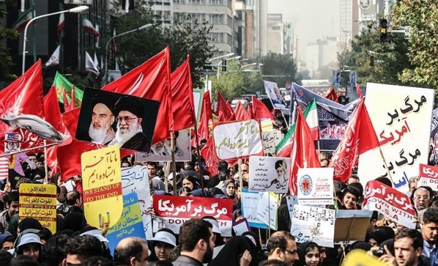 Iranians Support their government