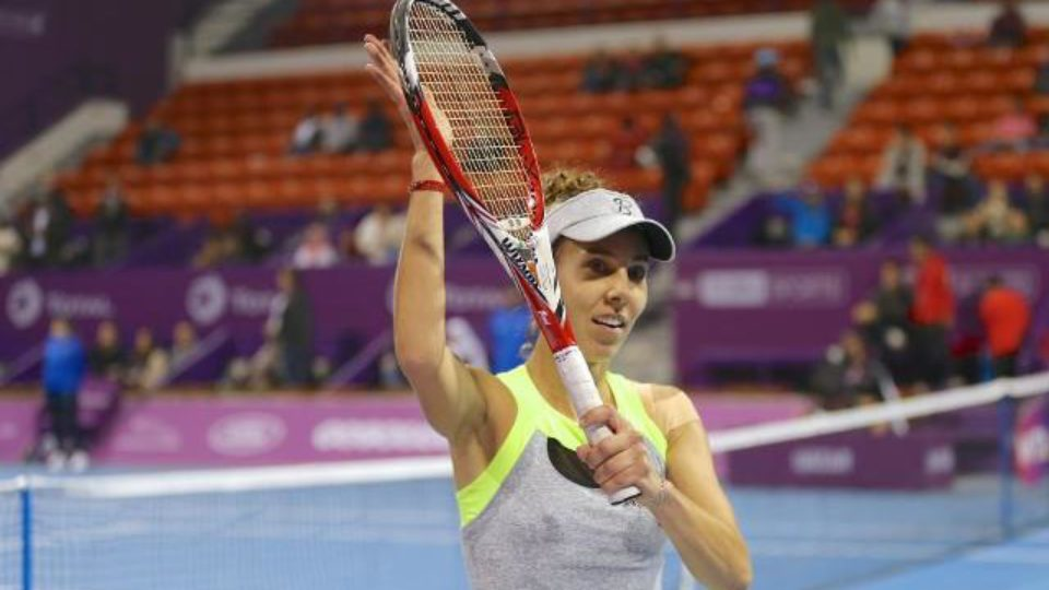 Buzarnescu Stunned Jelena Ostapenko at the Qatar Total Open