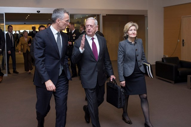 NATO :  Jens Stoltenberg Doorstep Statement Prior to Meetings of NATO Defence Ministers